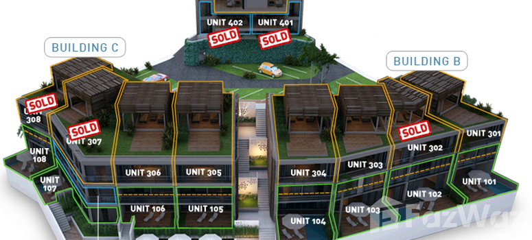 Master Plan of Bluepoint Condominiums - Photo 1