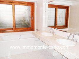 Rabat Sale Zemmour Zaer Na Agdal Riyad À louer villa avec chauffage central à Rabat Souissi Maroc 5 卧室 别墅 租