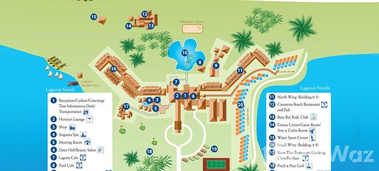 Master Plan of Dusit thani Pool Villa - Photo 1