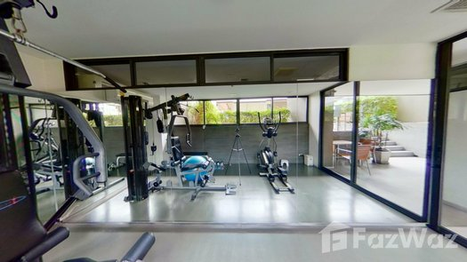 3D Walkthrough of the Communal Gym at Noble Ambience Sarasin