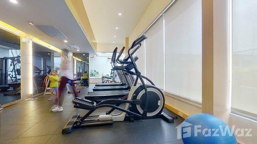 3D Walkthrough of the Communal Gym at Amaranta Residence