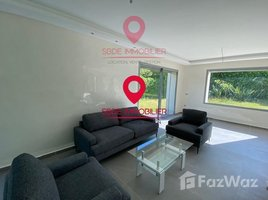 Rabat Sale Zemmour Zaer Na Agdal Riyad Magnifique villa à louer en plein OLM Souissi 4 卧室 别墅 租
