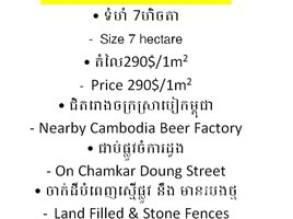 N/A Land for sale in Cheung Aek, Phnom Penh Other-KH-85735