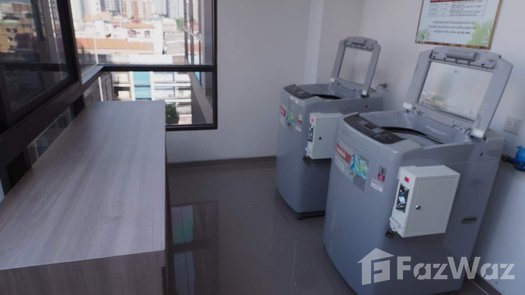 3D Walkthrough of the Laundry Facilities / Dry Cleaning at The Line Sukhumvit 71