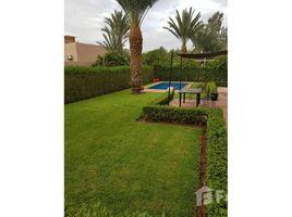 Marrakech Tensift Al Haouz Na Annakhil Villa à louer trois chambres avec piscine 3 卧室 别墅 租