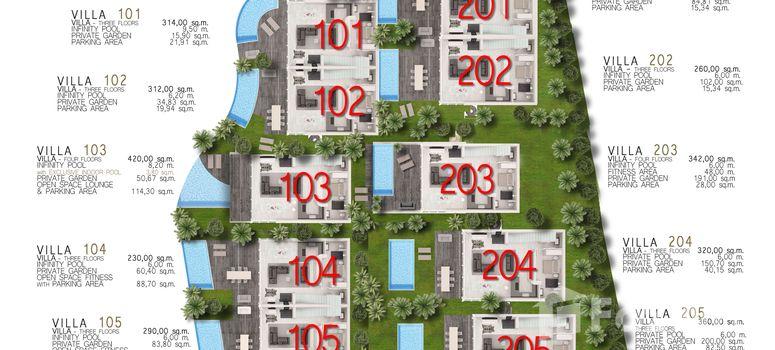 Master Plan of Kata Charme Villas - Photo 1