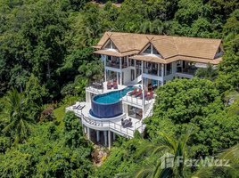 苏梅岛 湄南海滩 Stunning 5-Bedroom Hillside Villa With Seaview in Maenam 5 卧室 屋 租