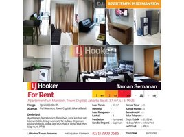 1 Bedroom Apartment for sale in Kembangan, Jakarta Puri Mansion