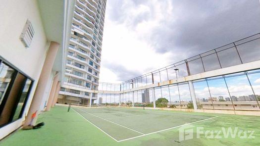 3D Walkthrough of the Tennis Court at Supalai Casa Riva