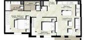 Unit Floor Plans of Zahra Breeze