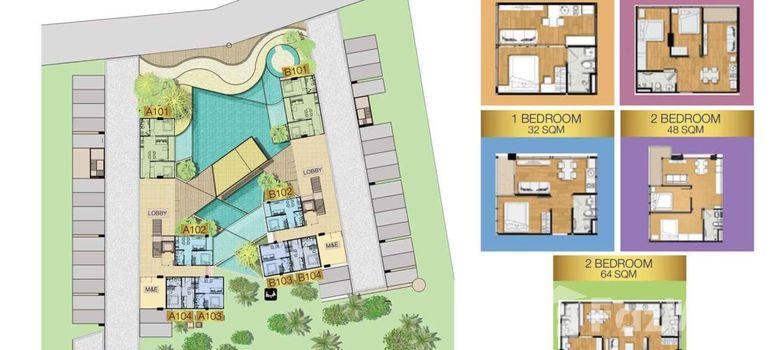 Master Plan of Sea Zen Condominium - Photo 1