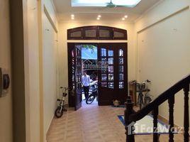 Studio Property for rent in Co Nhue, Hanoi Cho thuê nhà ngõ Nghĩa Tân ngõ rộng 5m oto đỗ cửa dt 58m2*5 tầng thông sàn, lô góc 2 mặt tiền