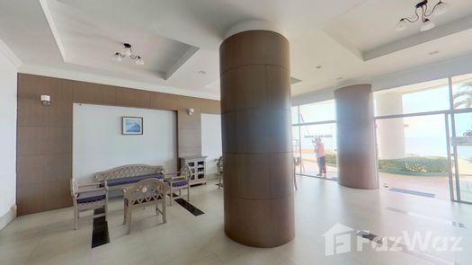 3D Walkthrough of the Reception / Lobby Area at Cha Am Long Beach Condo