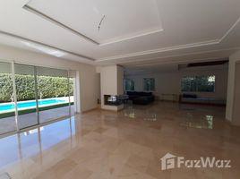 Rabat Sale Zemmour Zaer Na Agdal Riyad Villa neuf de haut gamme à LOUER situè à Souissi-Rabat 5 卧室 别墅 租