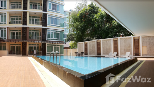 3D Walkthrough of the Communal Pool at The Unique at Nimman