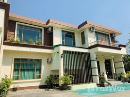 Yangon Hlaingtharya 5 Bedroom House for sale in Ah Lel, Yangon 5 卧室 别墅 售