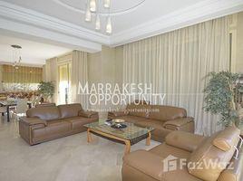 4 Bedrooms Villa for rent in Na Machouar Kasba, Marrakech Tensift Al Haouz Magnifique villa moderne en location front golf