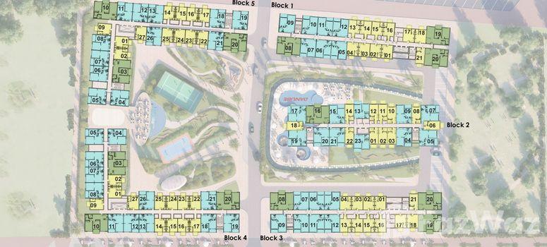 Master Plan of Olivz Residence - Photo 1