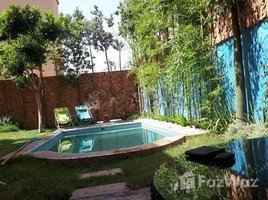 3 غرف النوم فيلا للإيجار في Sidi Bou Ot, Marrakech - Tensift - Al Haouz Villa meublée de 3 chambres en location sur la route de casablancaa