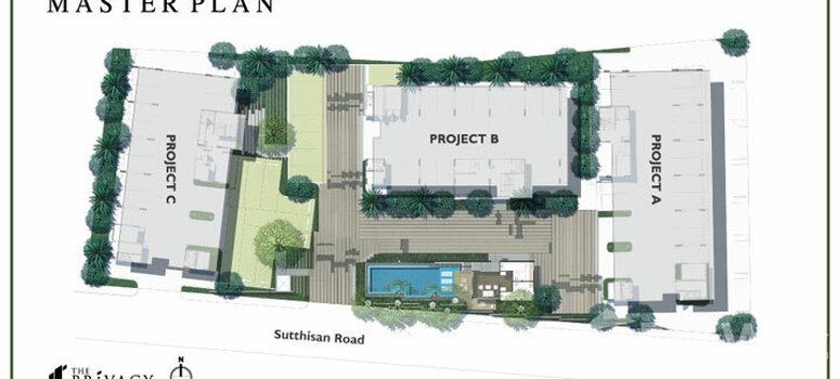 Master Plan of The Privacy Ratchada - Sutthisan - Photo 1