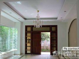 金边 Chak Angrae Leu 4bedrooms Villa For Rent in Chamkarmon 4 卧室 屋 租