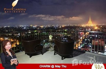 3 Bedroom Condo for rent in Pyay Garden Condominium, Yangon in မင်္ဂလာတောင်ညွှန့်, ရန်ကုန်တိုင်းဒေသကြီး