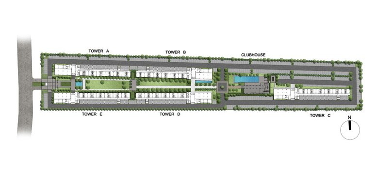 Master Plan of dcondo Campus Resort Bangna - Photo 1