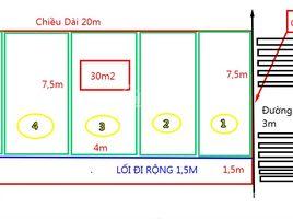 慶和省 Vinh Ngoc Bán đất xây dãy nhà trọ xã Vĩnh Ngọc, dt 182m2 giá 1 tỷ 680tr, xung quanh hiện đã có nhiều nhà trọ N/A 土地 售