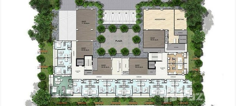 Master Plan of Siam Oriental Plaza - Photo 1