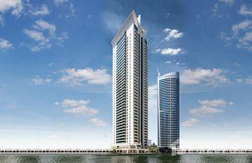 Al Seef Tower 2 in Lake Elucio, Dubai