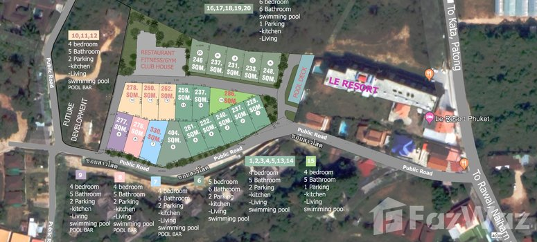 Master Plan of Le Villas & Residence - Photo 1