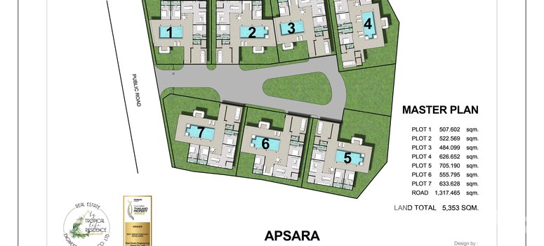 Master Plan of APSARA by Tropical Life Residence - Photo 1