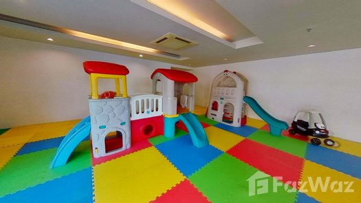 3D Walkthrough of the Indoor Kids Zone at Double Tree Residence