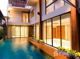 4 Bedrooms Villa for rent in Khlong Tan, Bangkok Single House with Swimming Pool in Khlong Tan