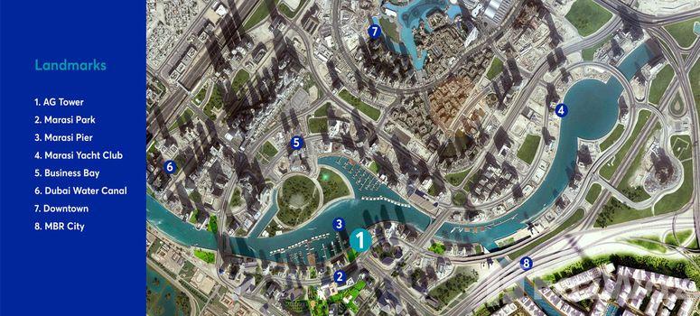 Master Plan of Marasi Business Bay - Photo 1