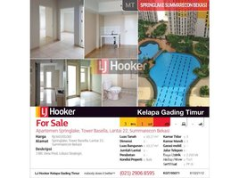 3 Bedrooms Apartment for sale in Pulo Aceh, Aceh Apartemen Springlake Residence Tower Basella