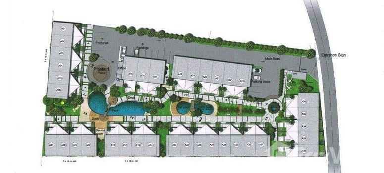 Master Plan of AP Grand Residence - Photo 1