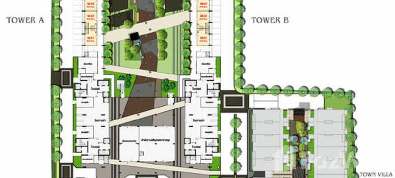 Master Plan of Lumpini Park Riverside Rama 3 - Photo 1