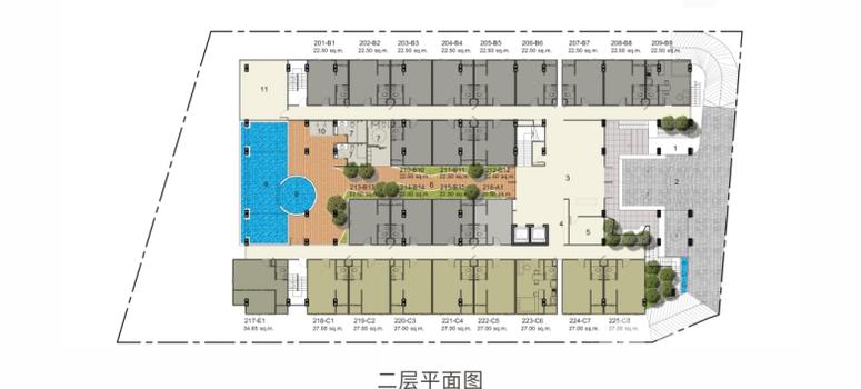 Master Plan of VIP Great Hill Condominium - Photo 1