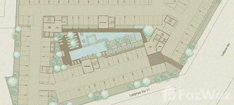 Master Plan of Ideo Ladprao 17 - Photo 1