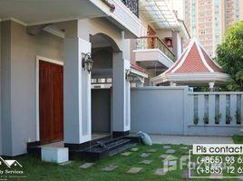 金边 Chak Angrae Leu 4 bedrooms Villa For Rent in Chamkarmon 4 卧室 屋 租