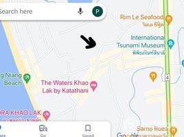 N/A Land for sale in Khuek Khak, Phangnga Land for sale near Bang Niang Beach