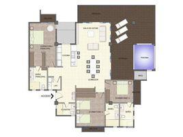 3 Bedrooms Apartment for sale in , Puntarenas 2nd Floor - Building 6 - Model B: Costa Rica Oceanfront Luxury Cliffside Condo for Sale