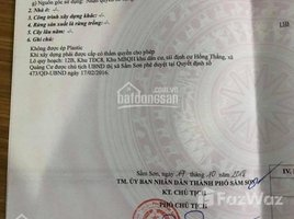 N/A Land for sale in Trung Son, Thanh Hoa NHÀ MÌNH CẦN TIỀN NÊN BÁN GẤP 1 LÔ 103M , THÔN HỒNG THẮNG, SẦM SƠN CÁCH BIỂN 100M