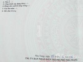 N/A Land for sale in Phuoc Hai, Khanh Hoa Bán đất tái định cư VCN Phước Long 2, 60m2