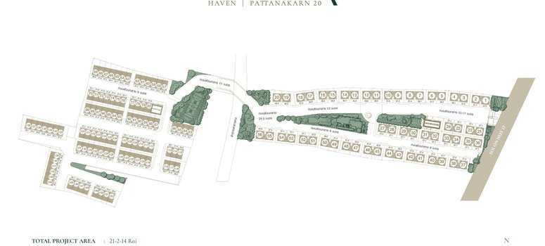 Master Plan of Estara Haven Pattanakarn 20 - Photo 1