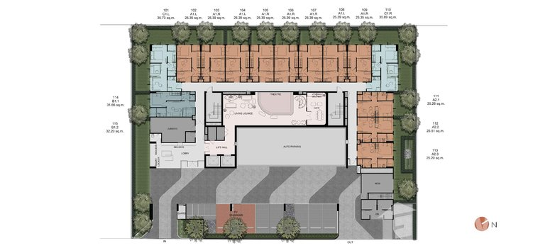 Master Plan of Groove Muse Ratchada 7 - Photo 1