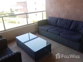 недвижимость, 2 спальни в аренду в Na Menara Gueliz, Marrakech Tensift Al Haouz Bel Appartement , ensoleillé bien meublé avec une belle terrasse et une superbe vue sur le golf,la piscine et l'Atlas, situé dans une résidence golfiq