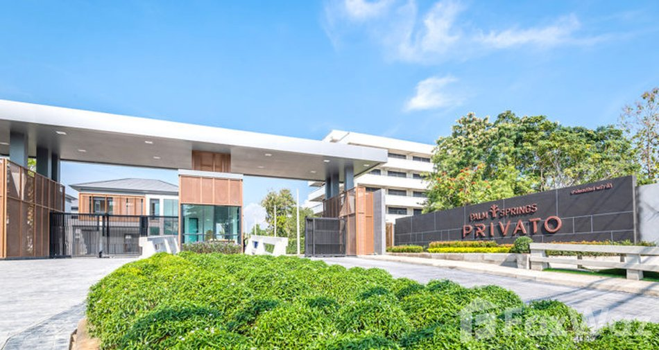 Latest off-plan projects launched in Chiang Mai - Palm Springs Privato
