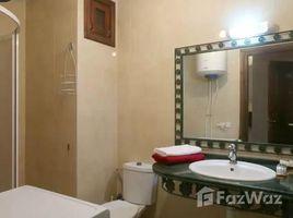 недвижимость, 1 спальня в аренду в Na Menara Gueliz, Marrakech Tensift Al Haouz Bel appartement avec vue sur piscine